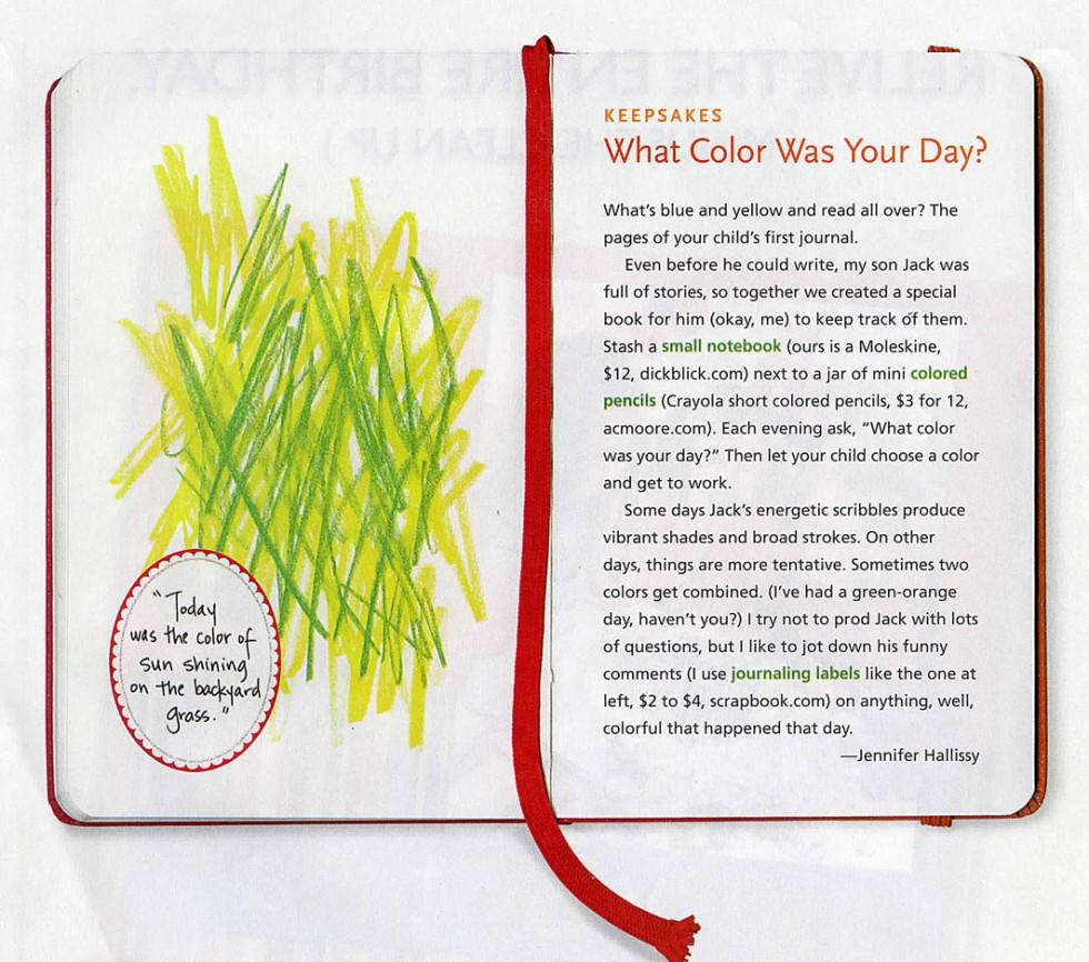 children's journal idea