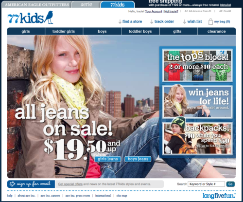 77kids by american eagle